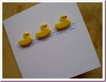 Three Little Ducks Card