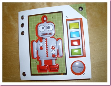 Red Robot Card