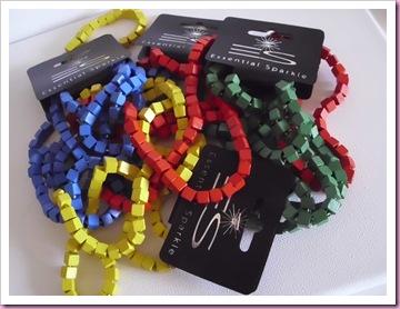 Poundland wooden beads