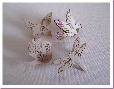 Wooden Embellishment pins