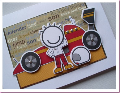 Smirk Racing Car card
