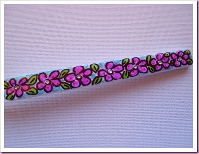 Handpainted Toothbrush handle