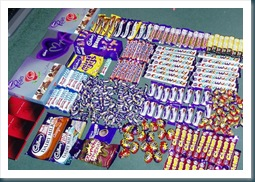 cadbury world stash