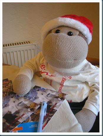 monkey writing cards 2