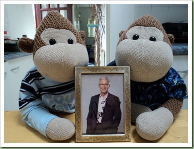 Framed Paul O'Grady