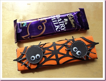 Halloween Spiders Web Chocolate Bar