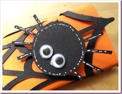 Halloween Spiders Web Chocolate Bar 2
