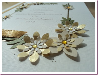 Golden Wedding Anniversary Card 3