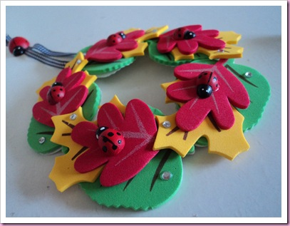 Hobbycraft Foam Leaves Wreath