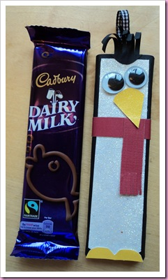 Christmas Penguin Chocolate Bar