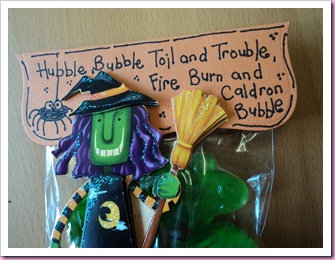 Hubble Bubble Halloween Favor