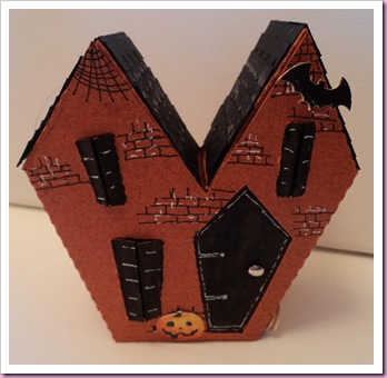 Halloween Haunted House box