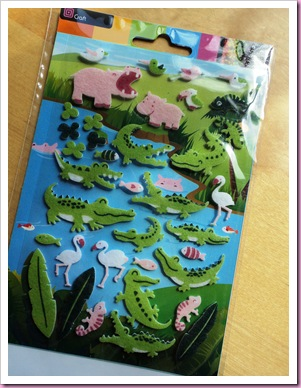 Crocodile Stickers