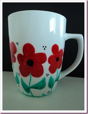 My handpainted Mug 1