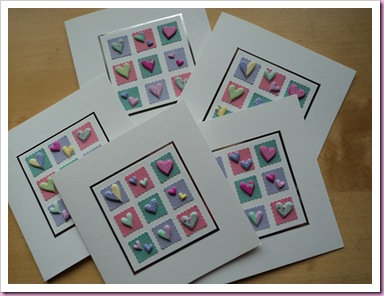 Cards made using Accessorize Stickers