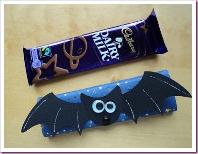 Halloween Bat Chocolate Bar