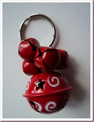 Christmas Jingle Bell Keyring