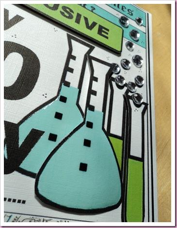 test Tubes on a Card