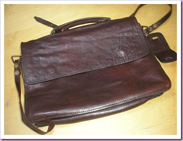 Leather Bag - Carboot Bargain
