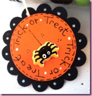 Trick or Treat Test Tube Favour Tag 1