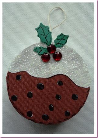 Christmas Pudding Tin