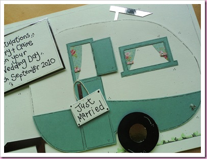 Caravan Wedding Card 1