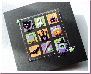 Halloween Card using Accessorize stickers
