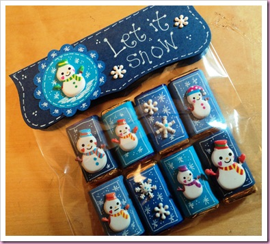 Accessorize Stickers Snowmen