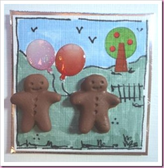 Gingerbread Men Card 2