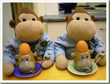 Monkey Egg Cups