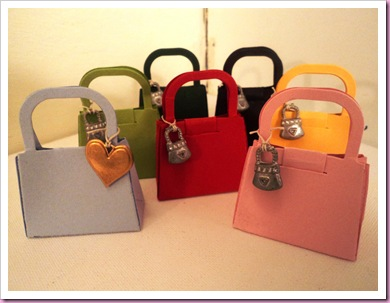 Handbag favors