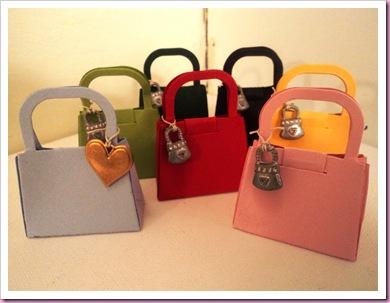 Handbag favors
