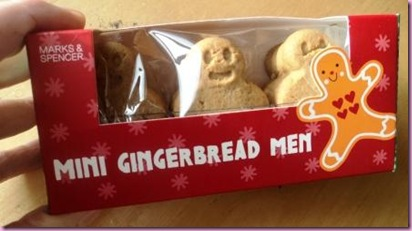 Marks and Spencer Mini Gingerbread Men