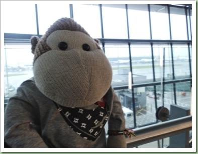 Waiting at Heathrow Airport