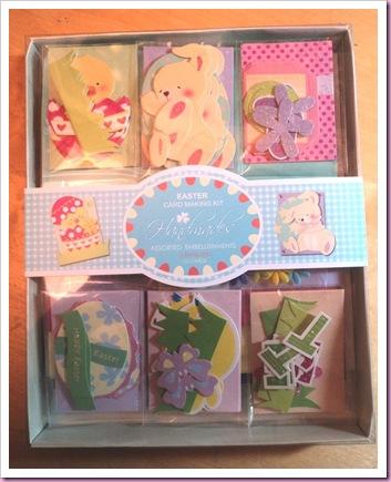 Hobbycraft Easter Card Kit