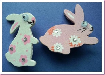 Easter Rabbit Pins c