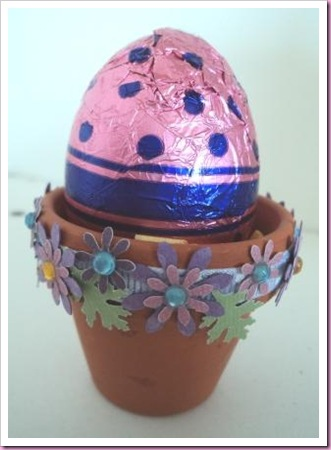 Easter Egg Flower Pot