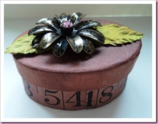 Altered Tape measure Box