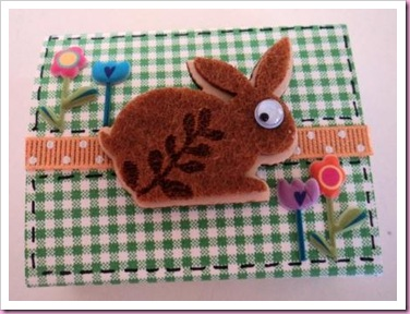 Easter Matchbox favor