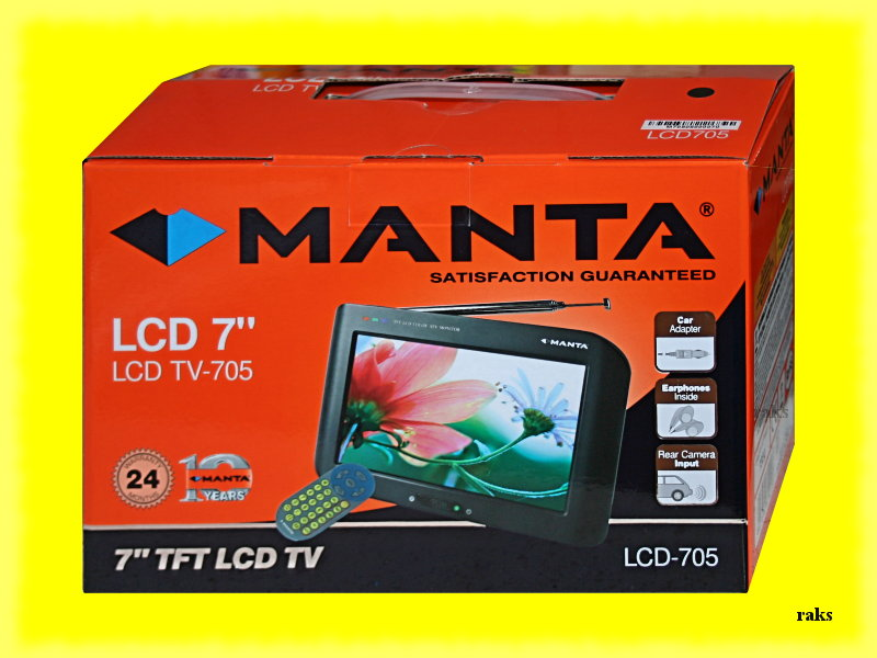 MANTA LCD705