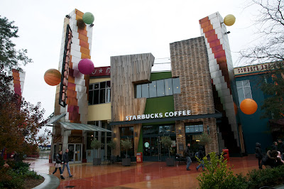 starbucks village disney