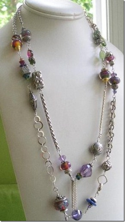 N__SHE_ROCKS_Various_Chain,Art_Glass,SemiPrecious