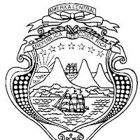 Escudo Nacional de Costa Rica.