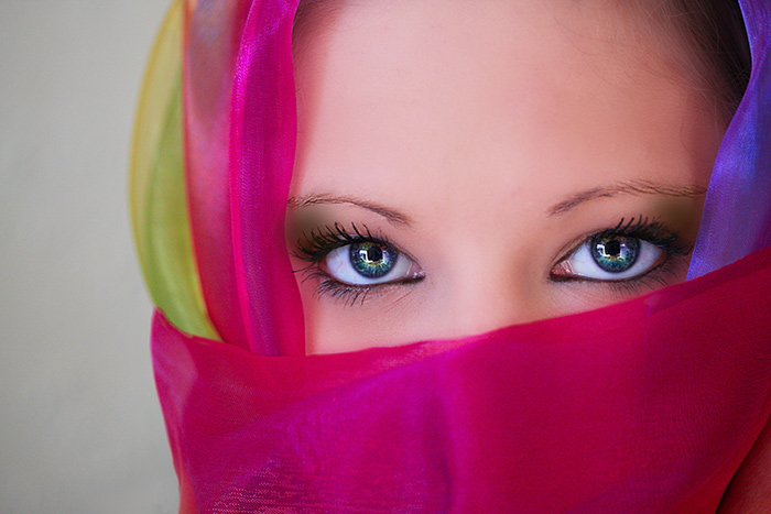 Most Beautiful Teen Girls Eyes