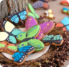 Butterfly Shape Biscuits