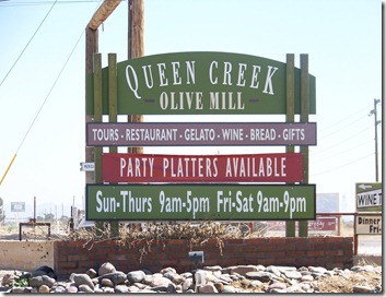 Queen Creek Olive Mill - Queen Creek, Az
