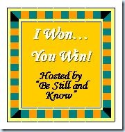 I won you win giveaway grab button