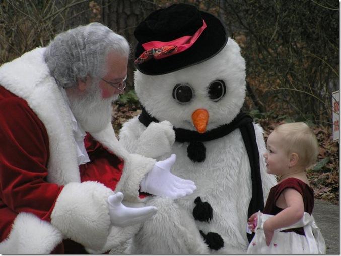 Cadence & Santa 2010 - 3