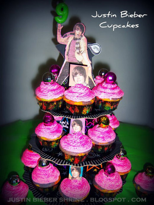 yummy justin bieber cupcakes