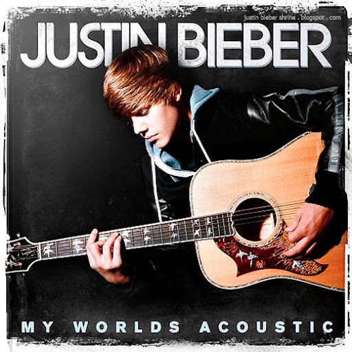 justin bieber my worlds acoustic album cover art Justin Bieber Christmas Contest 2011